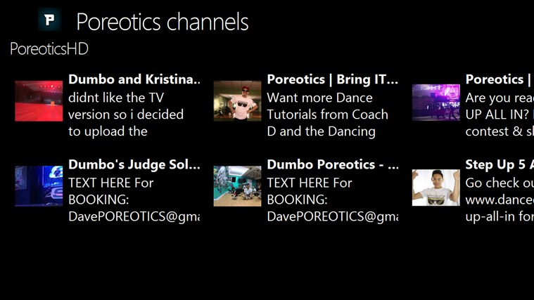 Poreotics channels channels youtube
