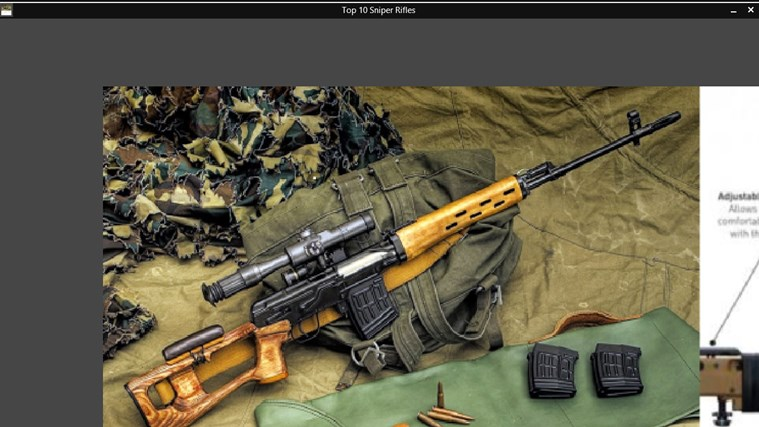 Top 10 Sniper Rifles