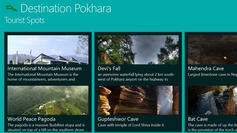 Destination Pokhara destination