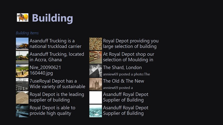 BuildingMats