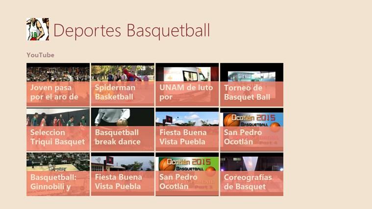 Deportes: Basquetball