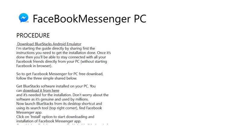 Guide to Facebook Messenger messenger