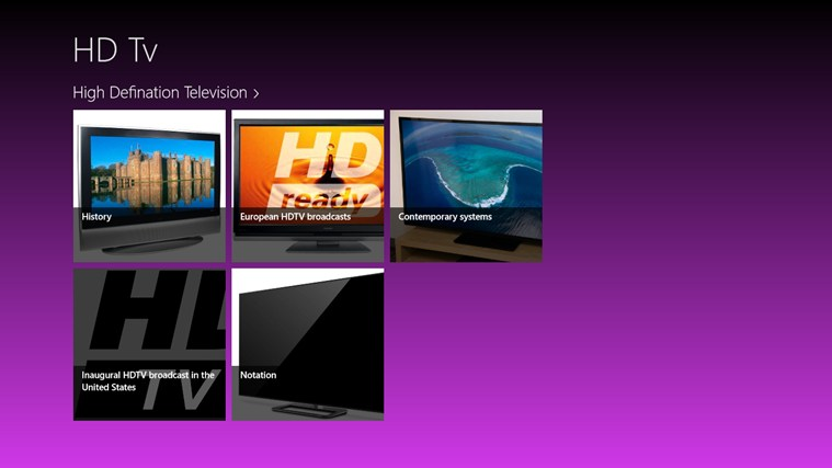 hdtv implications for high definition television essay