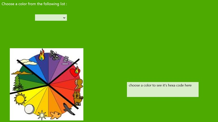 HTML Color Code Generator mechanical color code