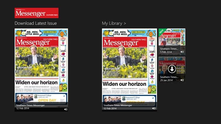 Southern Times Messenger messenger