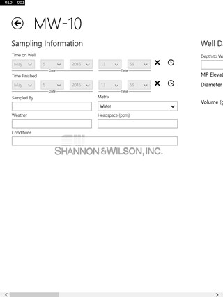 mWellSampling