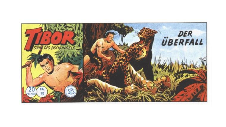 Tibor Comic - Band 10