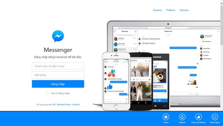 Messenger for Web