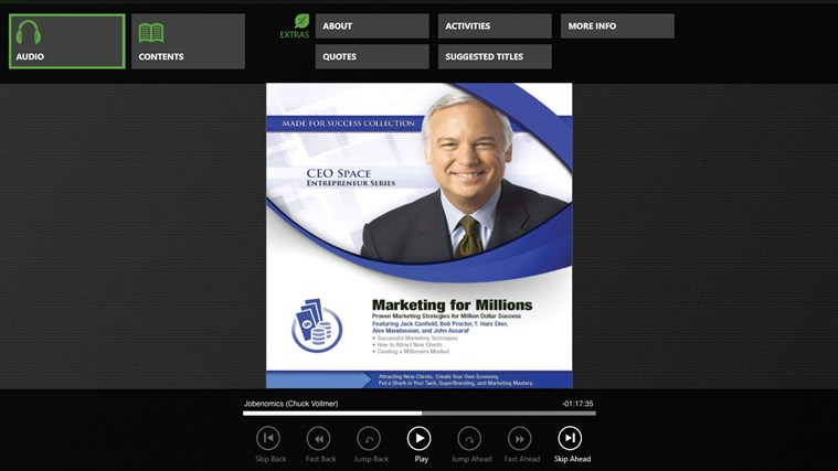 Marketing for Millions (Jack Canfield, Bob Proctor) marketing online