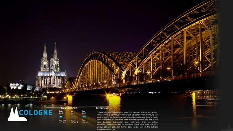 cologne germany weather forecast 10 days - HD3942×2393