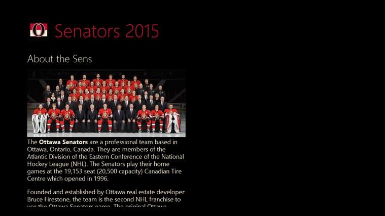 Senators 2015