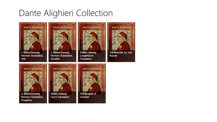 Dante Alighieri Collection comedy