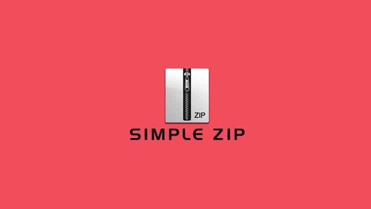 Simple Zip simple