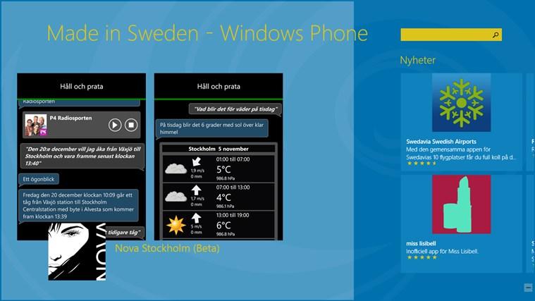 Made In Sweden WP sweden
