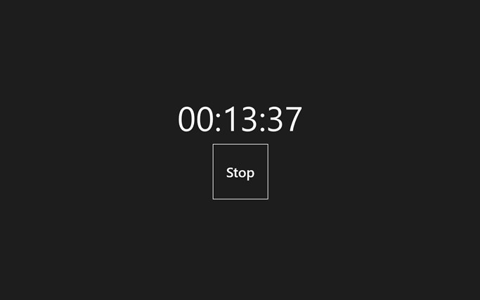 Really Simple Timer simple