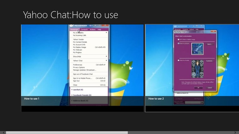 Yahoo Chat : How to use messenger