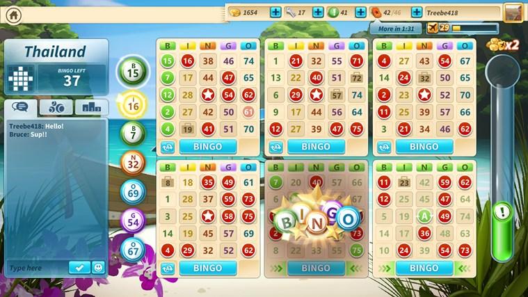 Microsoft Bingo bingo calling card