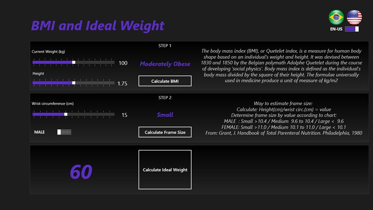 IdealWeight_PesoIdeal conseguir peso ideal