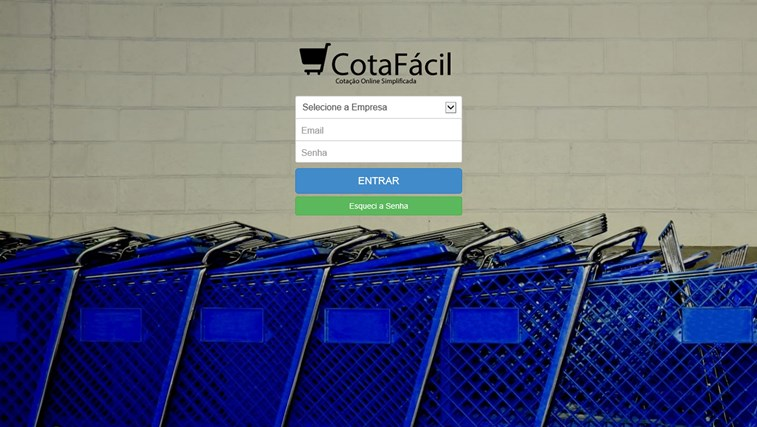 CotaFácil - Administração