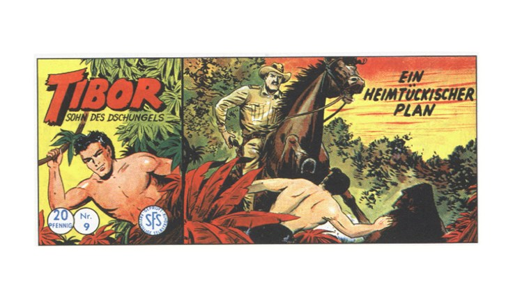 Tibor Comic - Band 9