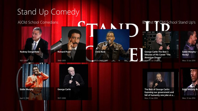 Stand Up Comedy App comedy