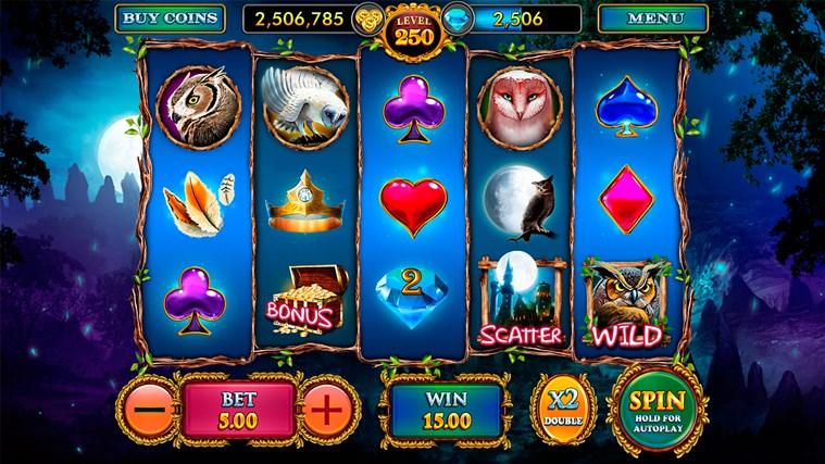 Great Owl : Magic Casino Slots