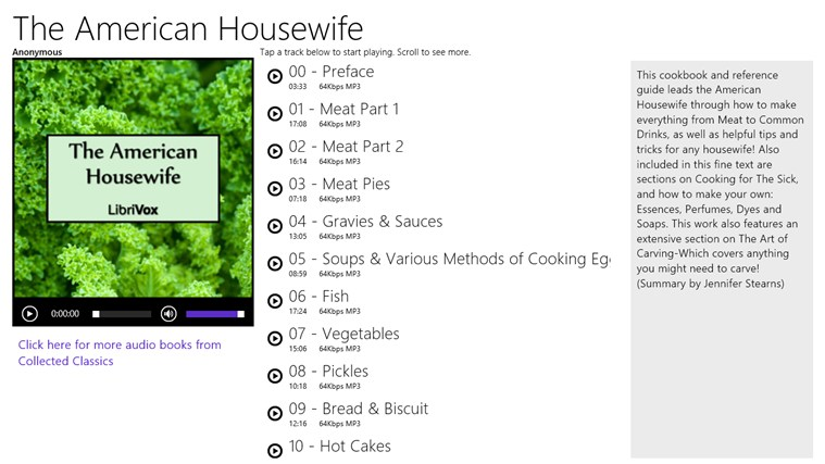 The American Housewife - Anonymous american player