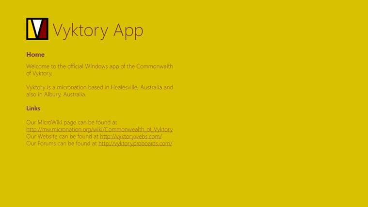 Vyktory App
