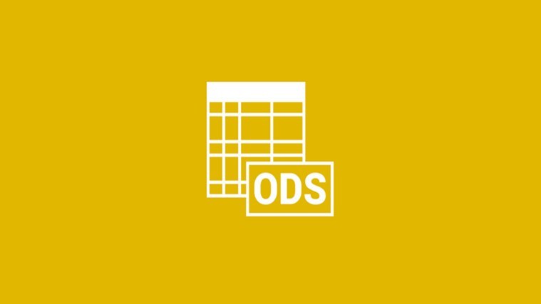 Open your ODS File