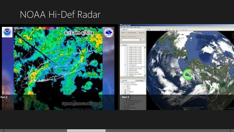 NoAA hi-Def Radar. weather