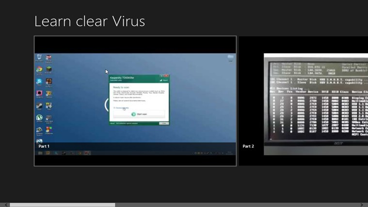 How to clear Virus applications