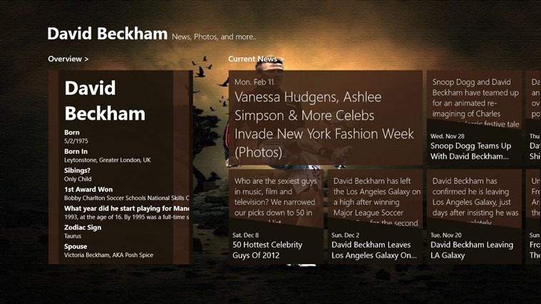 Follow David Beckham beckham united