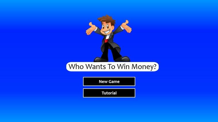 Who Wants To Win Money? money tutorial