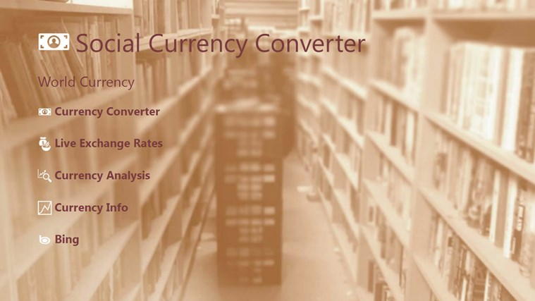 Social Currency Converter