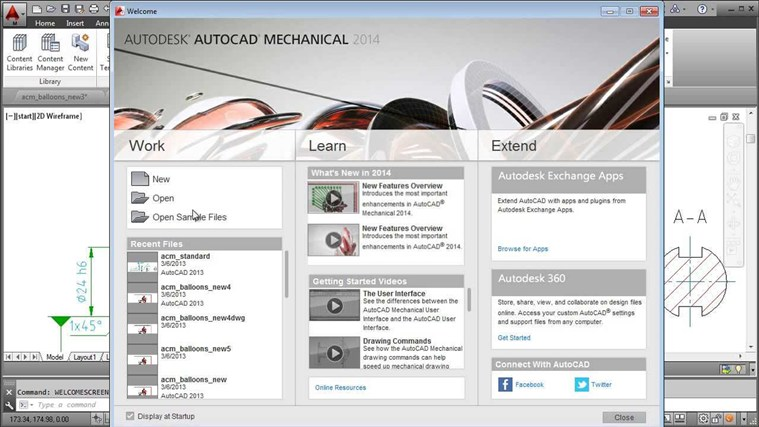 AutoCAD Mechanical 2014 Tutorial - Complete mechanical color code