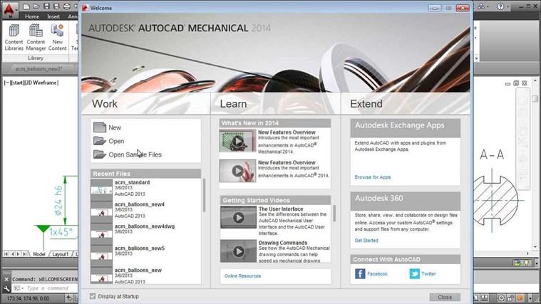 AutoCAD Mechanical 2014 Tutorial - Complete mechanical color code