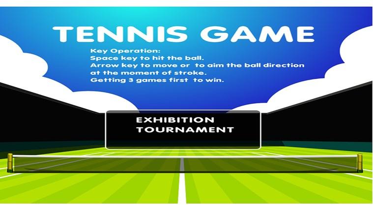 Pro Tennis Game