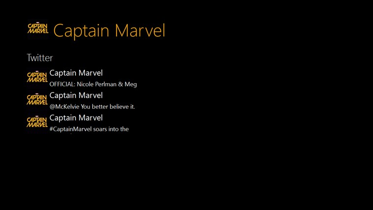 Captain Marvel App