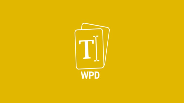 Open your WPD Files