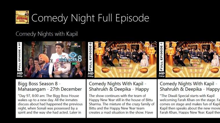 Comedy Night Full Episode comedy
