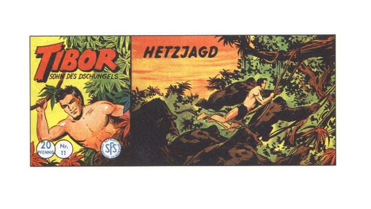 Tibor Comic - Band 11