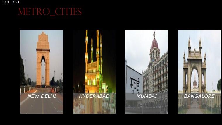 Metropoilitan cities video