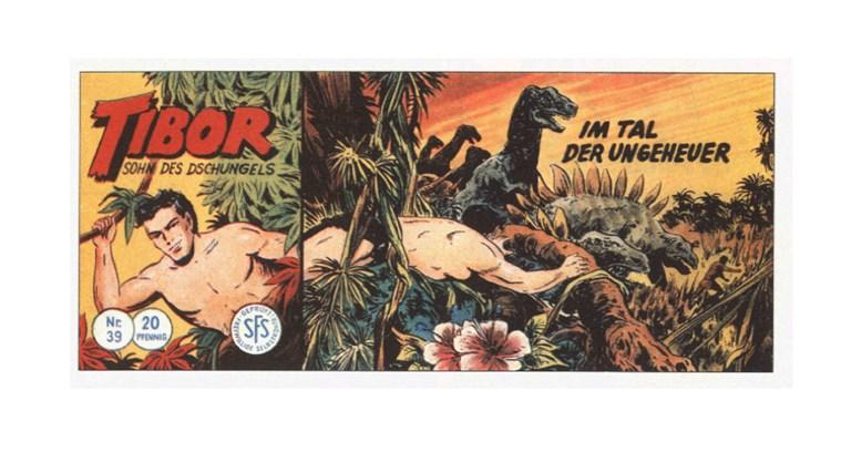 Tibor Comic - Band 39