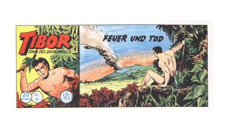 Tibor Comic - Band 48