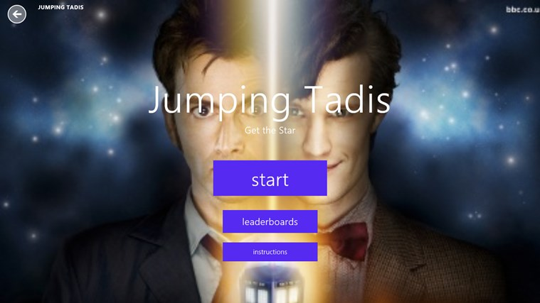 Jumping Tadis(Doctor Who)