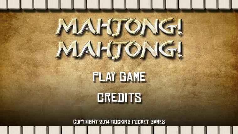 Mahjong Mahjong classic mahjong