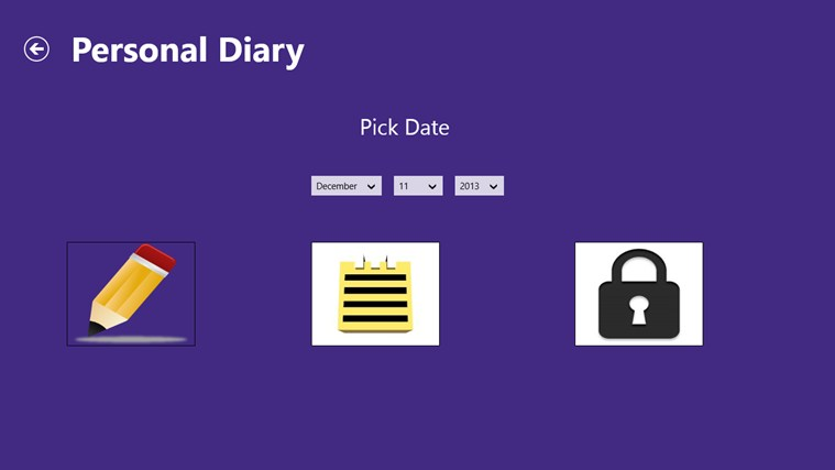 my personal diary