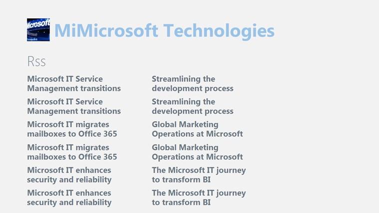 MiMicrosoft Technologies