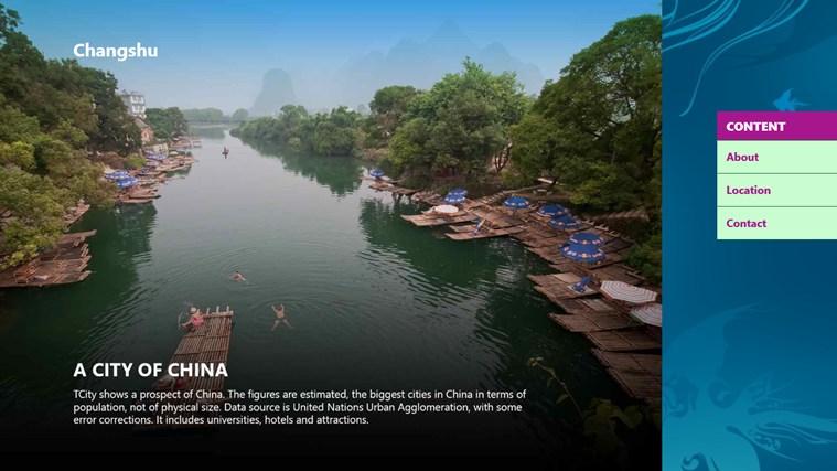 Changshu City cities video