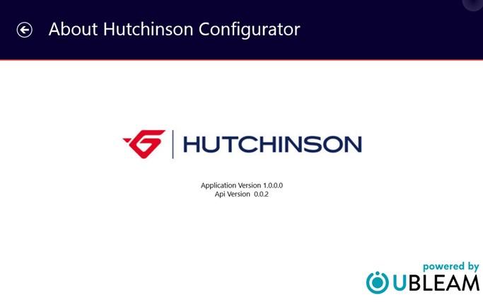 Hutchinson Configurator